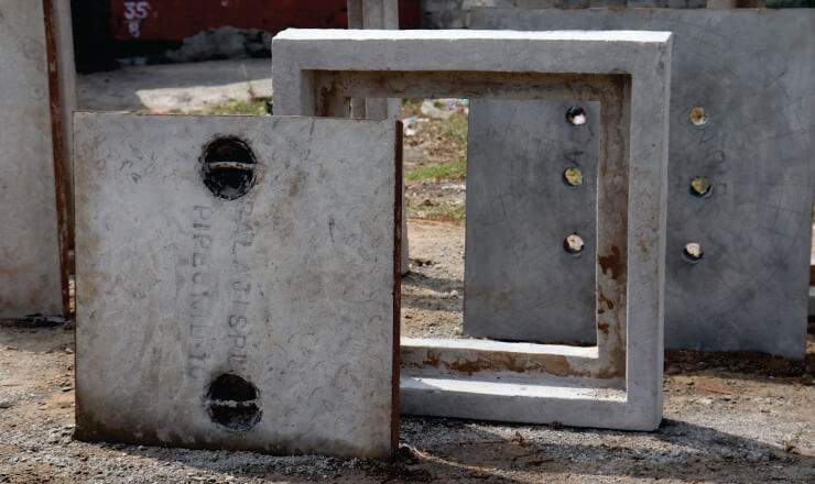 MANHOLE CHAMBER COVERS