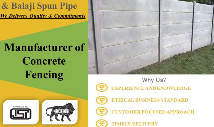 Manufacturer-of-Concrete-Fencing