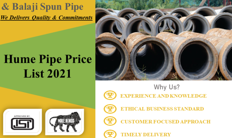Hume Pipe Price List 2021
