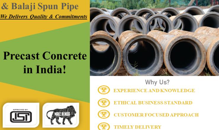 Precast Concrete in India